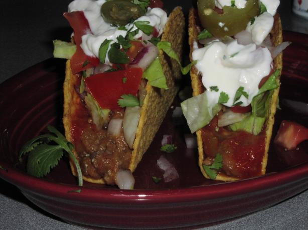 Ww Healthy Beef-And-Bean Tacos. Photo by TeresaS