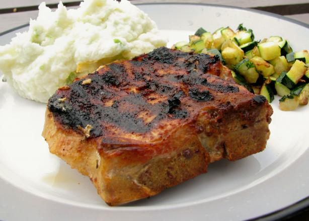 Tex-Mex Pork Chops. Photo by lazyme