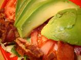 Bacon Tomato and Avocado Salad