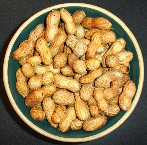 Basic Oven Roasted Peanuts. Photo by mammafishy