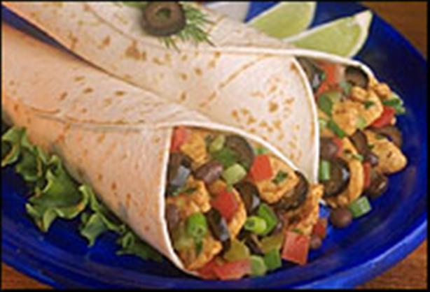 Easy Chicken Salsa Wraps (Stove Top or Crock Pot). Photo by TemaB