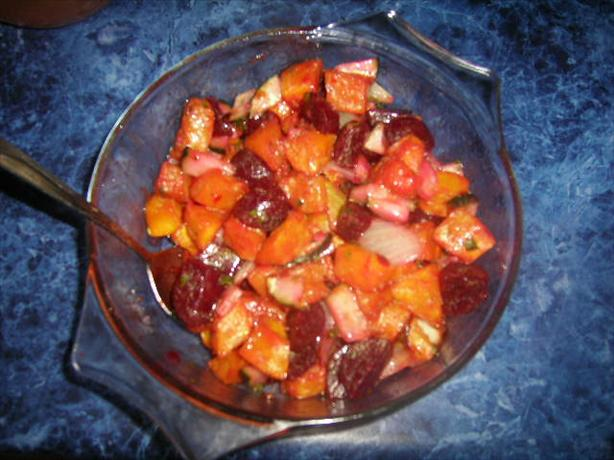 Chilli Pumpkin Salad. Photo by **Mandy**