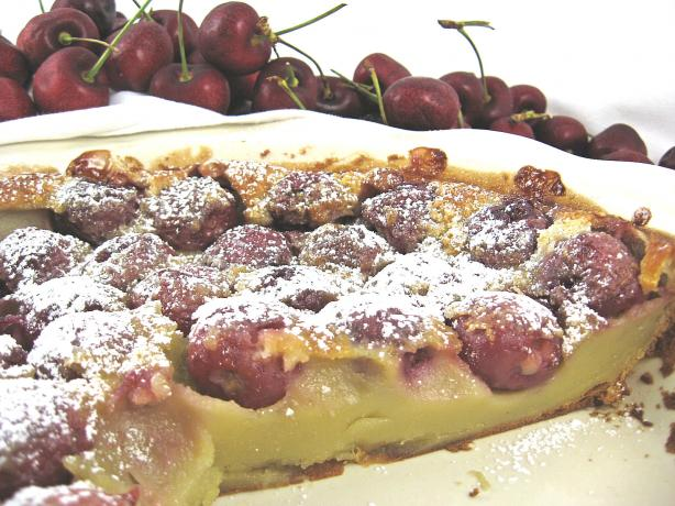 Julia Child's Cherry Clafouti. Photo by Kathy at Food.com