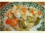 Honey Lime Cajun Shrimp Stir Fry