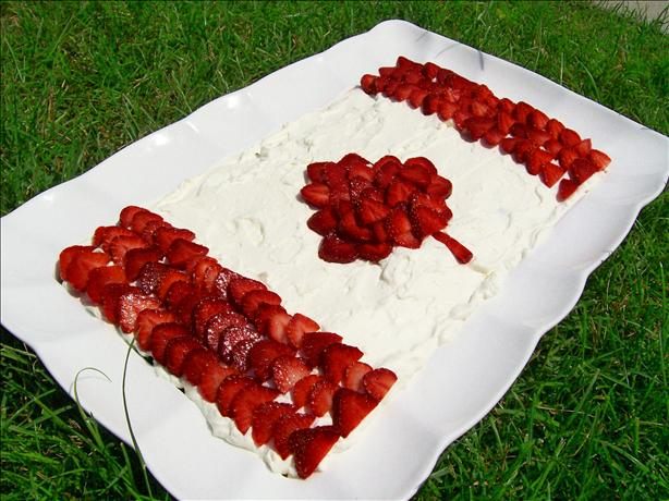 "Canada Flag ""cake"". Photo by * Pamela *"