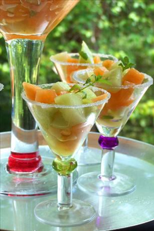 Mojito-Style Melon Salad. Photo by NcMysteryShopper