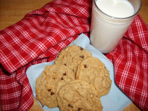 Chewy Oatmeal Peanut Butter Cookies!. Photo by Chef on the coast