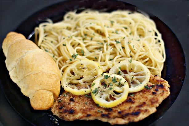 Herbed Chicken Piccata. Photo by CulinaryExplorer