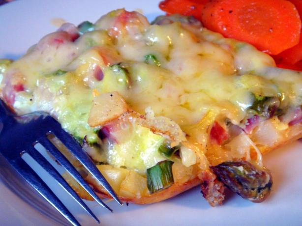 Asparagus Breakfast Casserole. Photo by Lori Mama