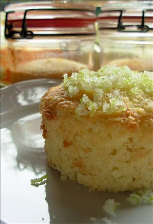 Lime-Almond Cakes in Jars. Photo by French Tart