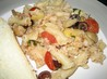 Pasta With Sauteed Tomatoes, Olives and Artichokes. Recipe by jonesies