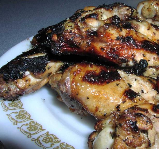 Grilled Ginger Chicken Wings. Photo by TeresaS