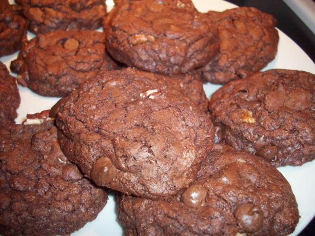 Chewy Brownie Cookies. Photo by C. Taylor