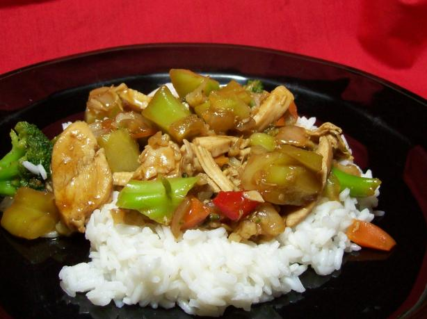 Chicken Pineapple Stir- Fry. Photo by Chef shapeweaver ©