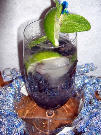 Ila's Blueberry Mojito. Photo by mersaydees