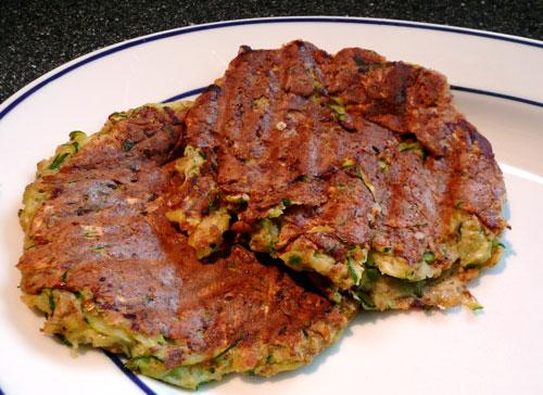 Zucchini Hash Browns. Photo by Mikekey