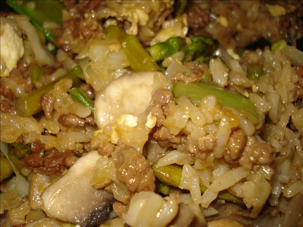 Beef Teriyaki Fried Rice. Photo by C. Taylor