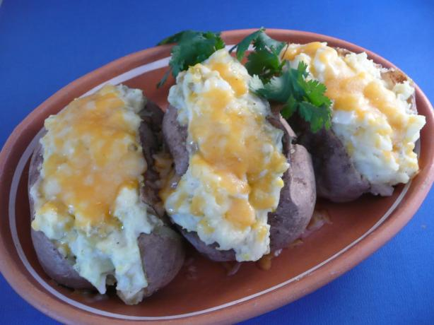 Mexican Baked Potatoes. Photo by cookiedog