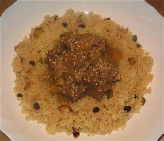 Spiced Couscous. Photo by The Flying Chef