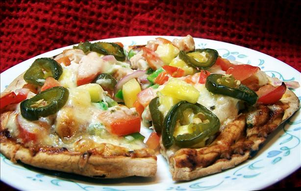 BBQ Chicken Pizza. Photo by PaulaG