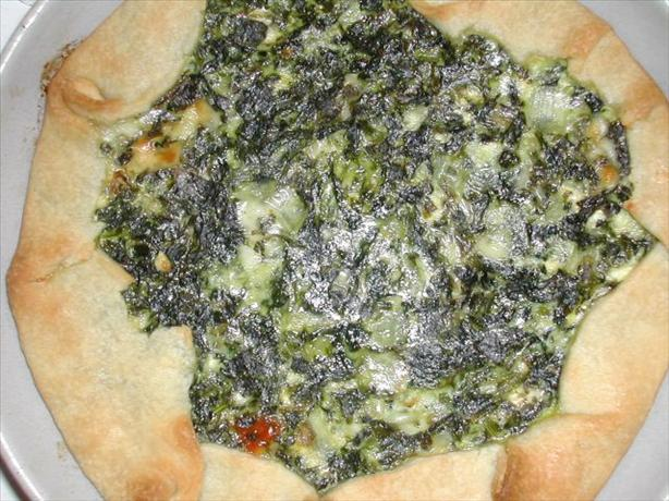 Swiss Chard (Or Spinach) Pie. Photo by MarraMamba