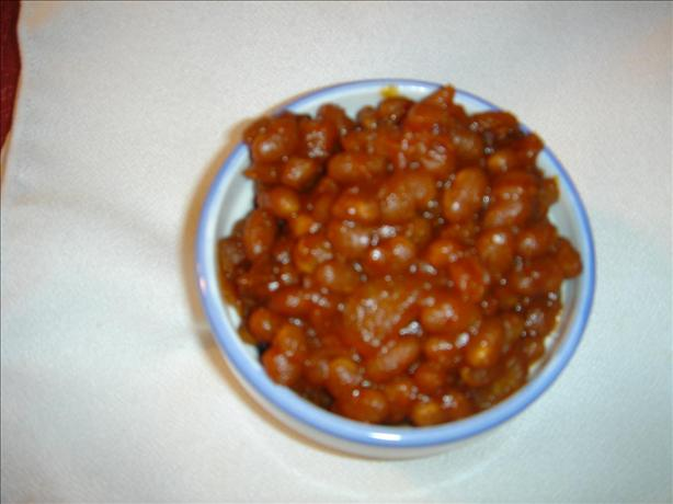 Homemade Baked Beans (In the Crock Pot). Photo by SEvans
