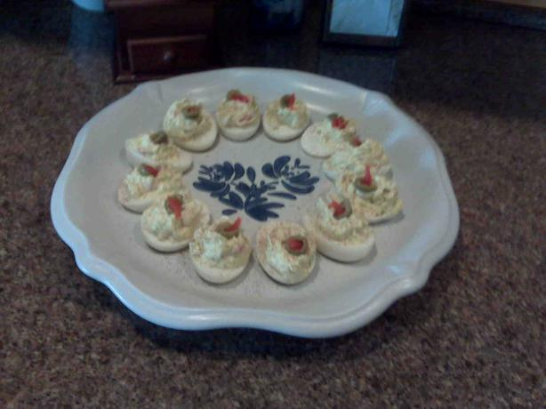 Deviled Eggs With Olives. Photo by jfreed