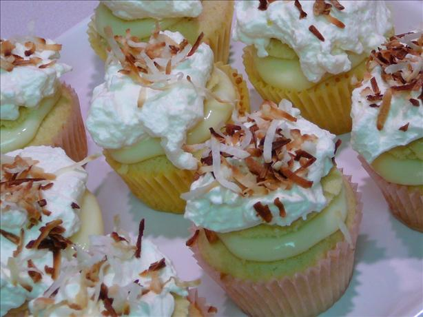 Coconut Cream Cupcakes. Photo by ~Paula~