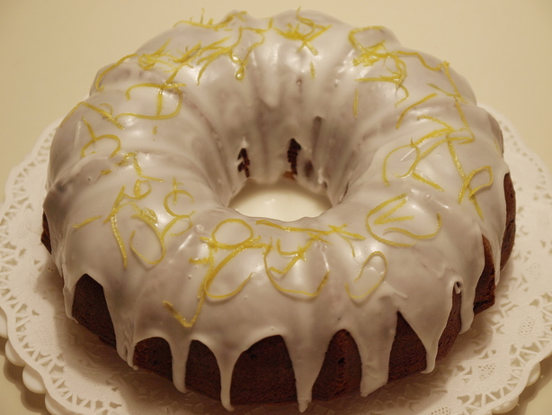 Blueberry Lemon Bundt Cake With Lemon Glaze. Photo by Joanne117