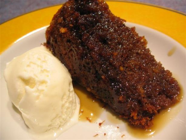 Sticky Date Pudding (Microwave). Photo by Chickee