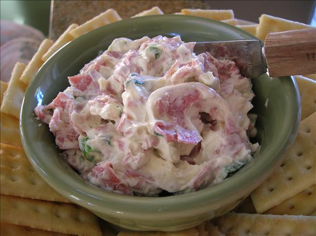 Chipped Beef Cheese Ball. Photo by Pam-I-Am