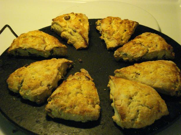 White Chocolate Craisin Scones. Photo by Chef #738454