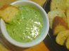 Garlic Spinach Cheese Fondue (The Stinking Rose Rest.). Recipe by MarraMamba