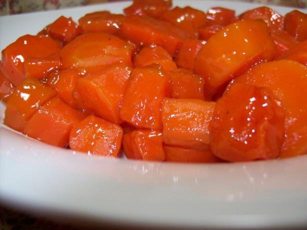 Easy Honey-Glazed Baby Carrots. Photo by Chef shapeweaver ©