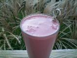 Chocolate, Raspberry and Banana Smoothie