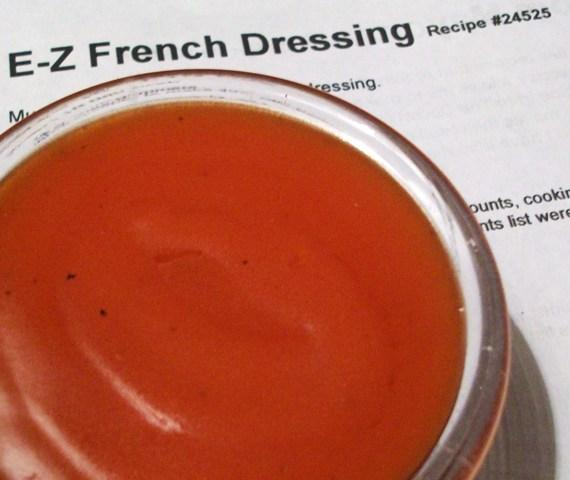 E-Z French Dressing. Photo by 2Bleu