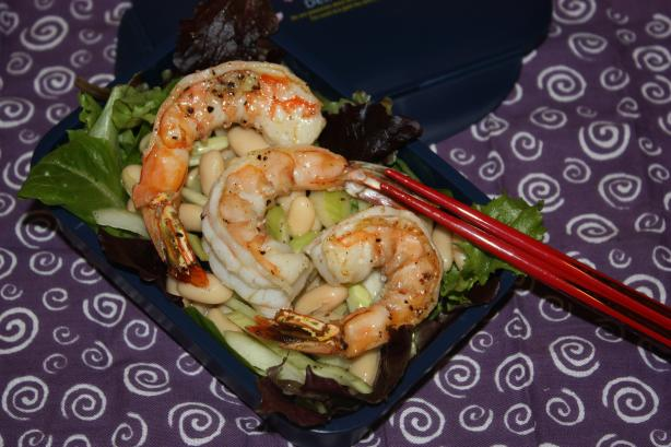 Shrimp, Celery, and White-Bean Salad. Photo by IngridH