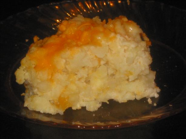 Baked Hash Browns Casserole. Photo by Chef Dee
