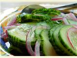 Sunday Afternoon Tea Quick Pickled Cucumber and Onion
