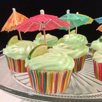 Margarita Cupcakes With Key Lime Icing. Photo by JoannaAllen