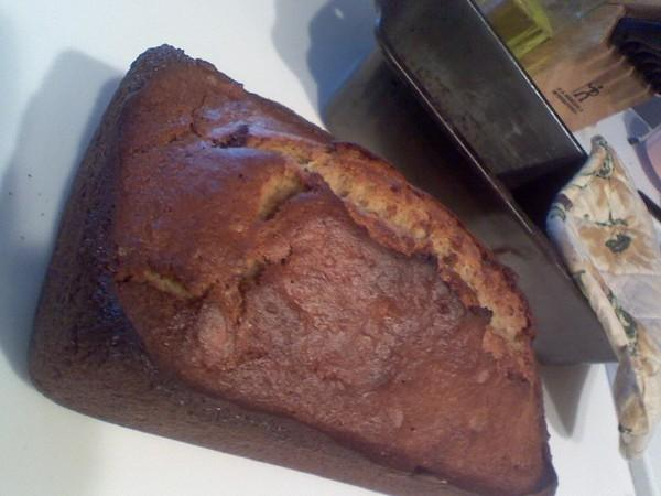 Low Fat-Sugar Free Banana Bread. Photo by rileyk2