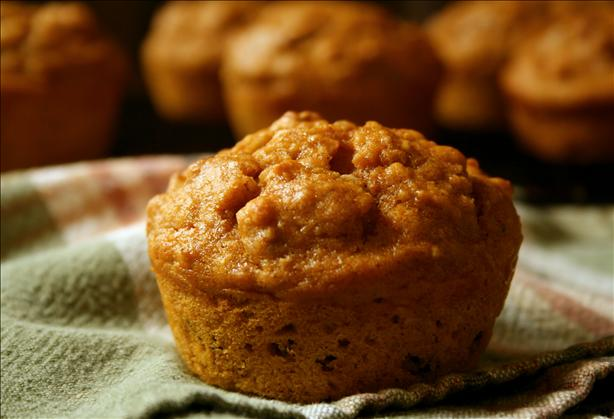 Moist Oatmeal Pumpkin Muffins. Photo by GaylaJ