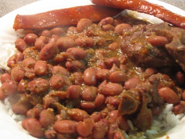 Red Beans &amp; Rice - My Recipe. Photo by kellychris