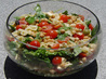 Greek Pasta Salad. Recipe by Chef Glaucia
