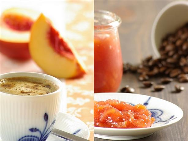 Nectarine-Coffee Jam. Photo by Thorsten