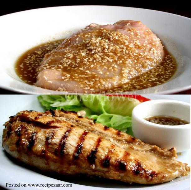 Ginger and Sesame Marinade. Photo by Chef floWer
