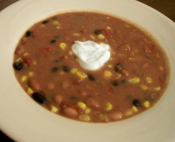 Spicy Healthy Taco Bean Soup. Photo by *Parsley*