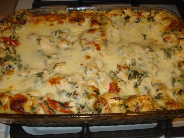 Chicken Caesar Lasagna. Photo by Mika G.