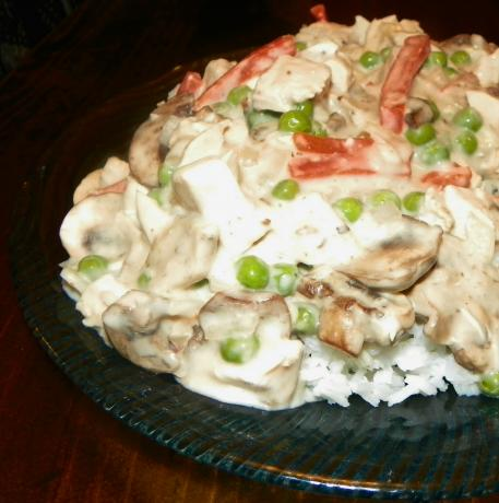 Quick Chicken and Mushroom Casserole. Photo by Baby Kato