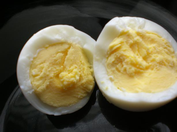 Hard-Boiled Eggs. Photo by Rollin in the Dough!